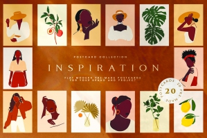 Inspiration Postcard Collection