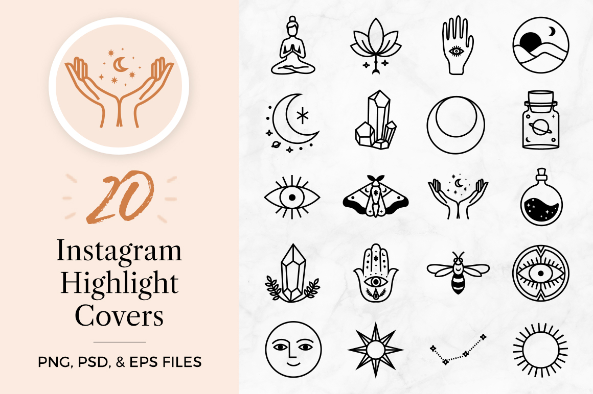 Magical Instagram Highlight Icons