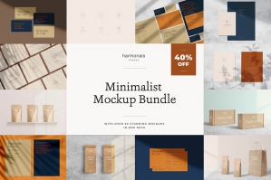 Minimalist Mockup Bundle Vol.1