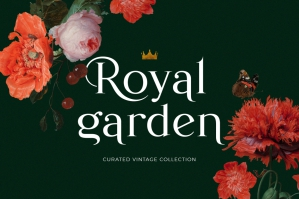 Royal Garden Curated Vintage Set