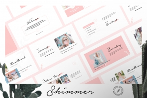 Shimmer Brand Catalogue Keynote