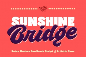 Sunshine Bridge Font Duo