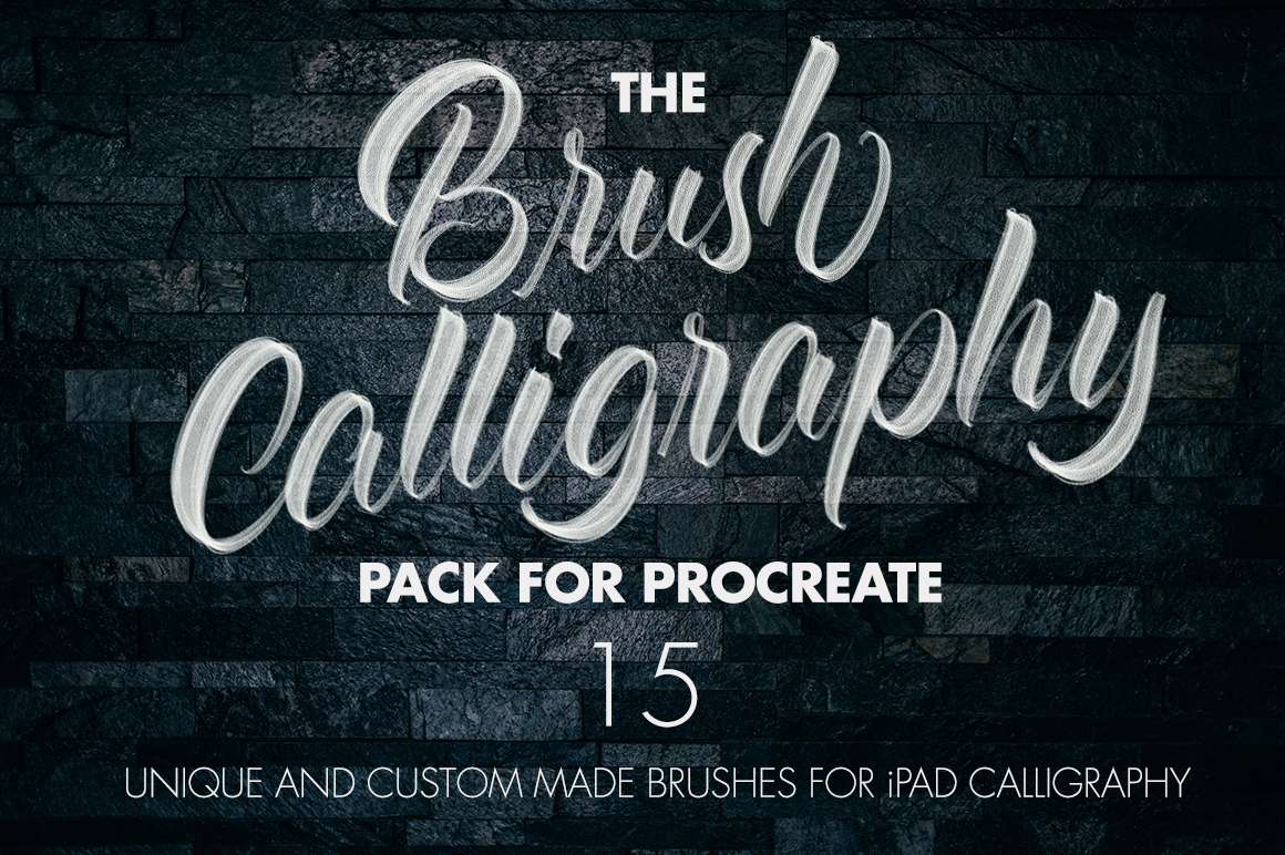 10 Best Procreate Brushes for all Your Lettering Needs