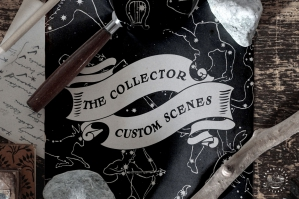 The Collector - Custom Mockup Scenes
