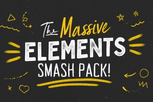 The Massive Element Smash Pack (Animated)
