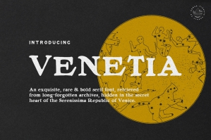 Venetia - Display Serif Font