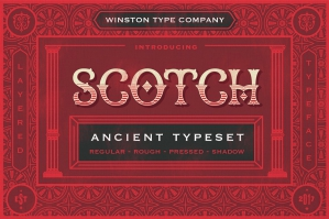 WT Scotch Layered Type Family