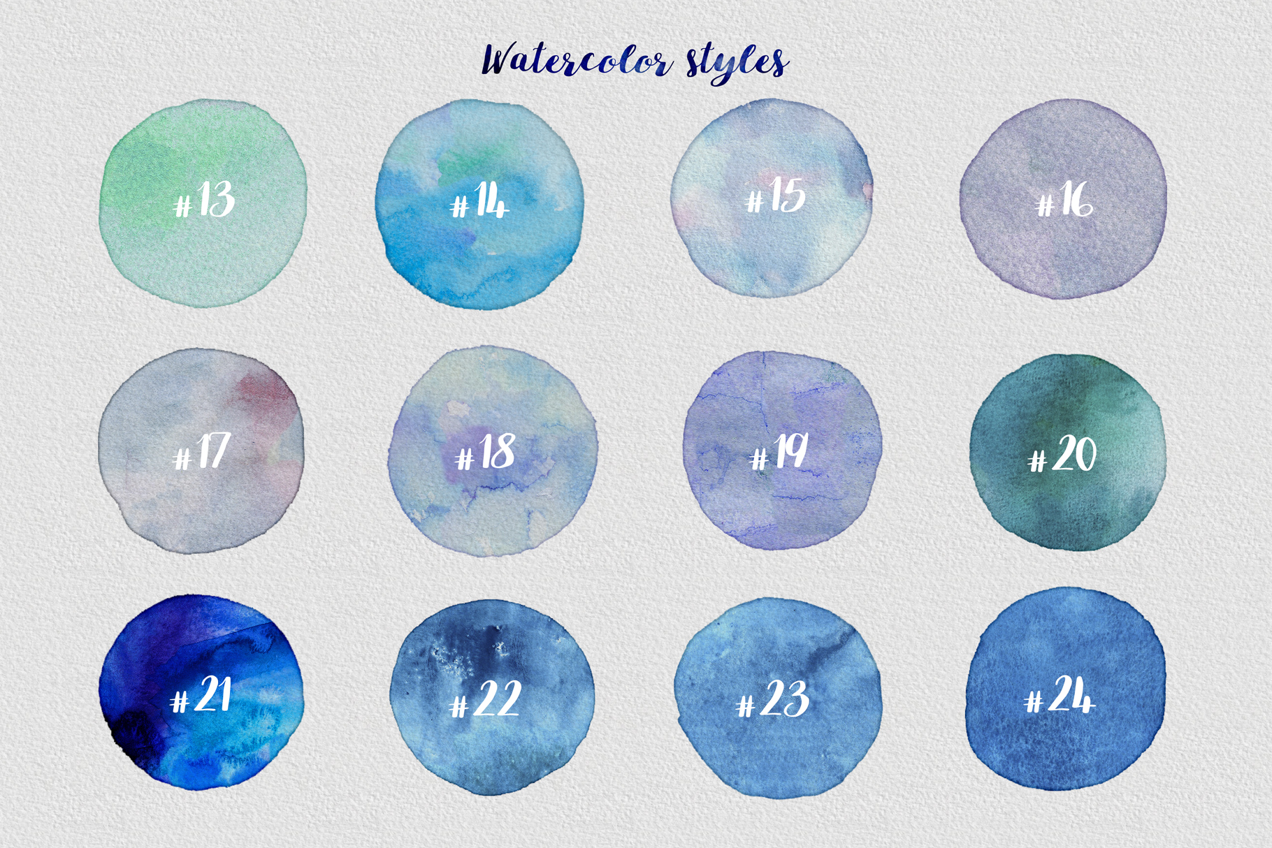 Watercolor Layer Effects For Adobe Photoshop