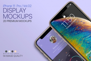 iPhone 11 Pro Display Mockups