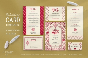 Asian Wedding Templates Suite