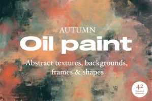 Autumn Oil Paint Texture Pack