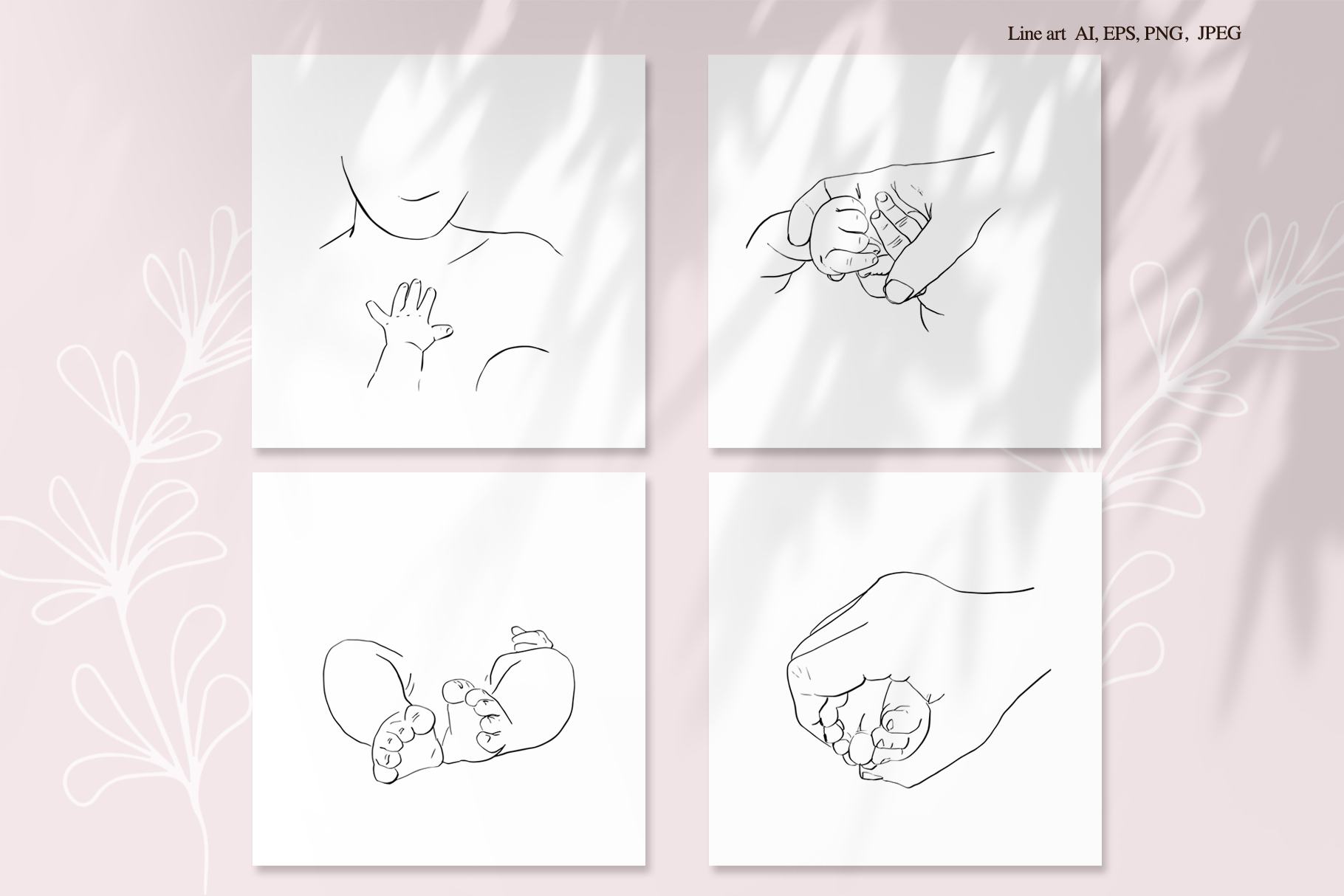 Baby Love. Graphic Collection