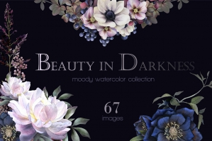 Beauty in Darkness Watercolor Set