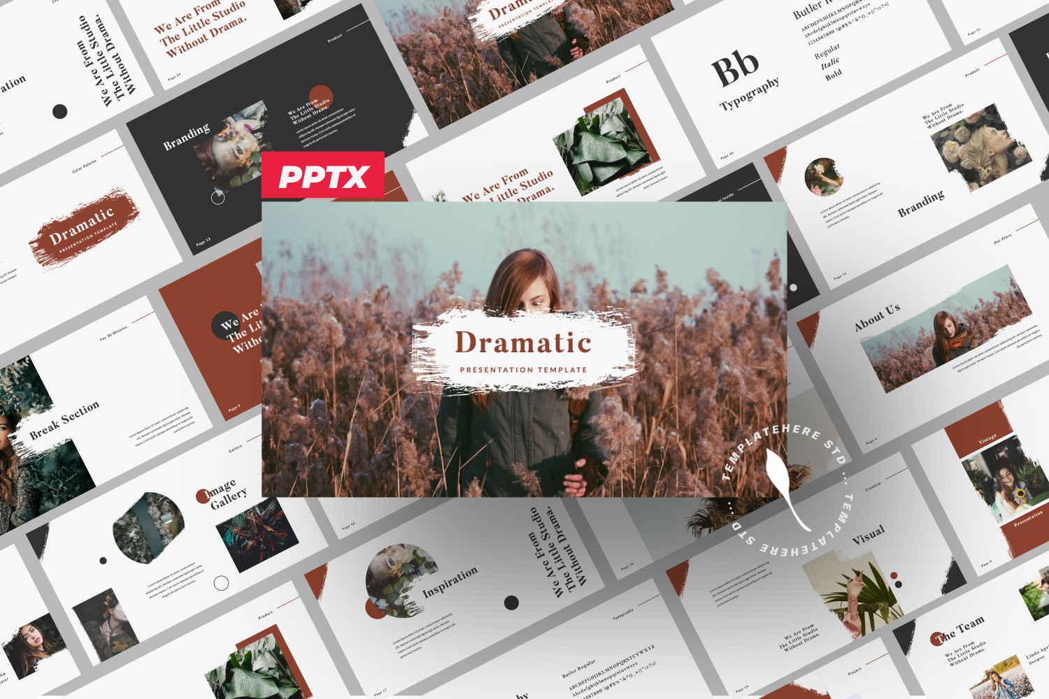 Dramatic - Powerpoint Brand Template