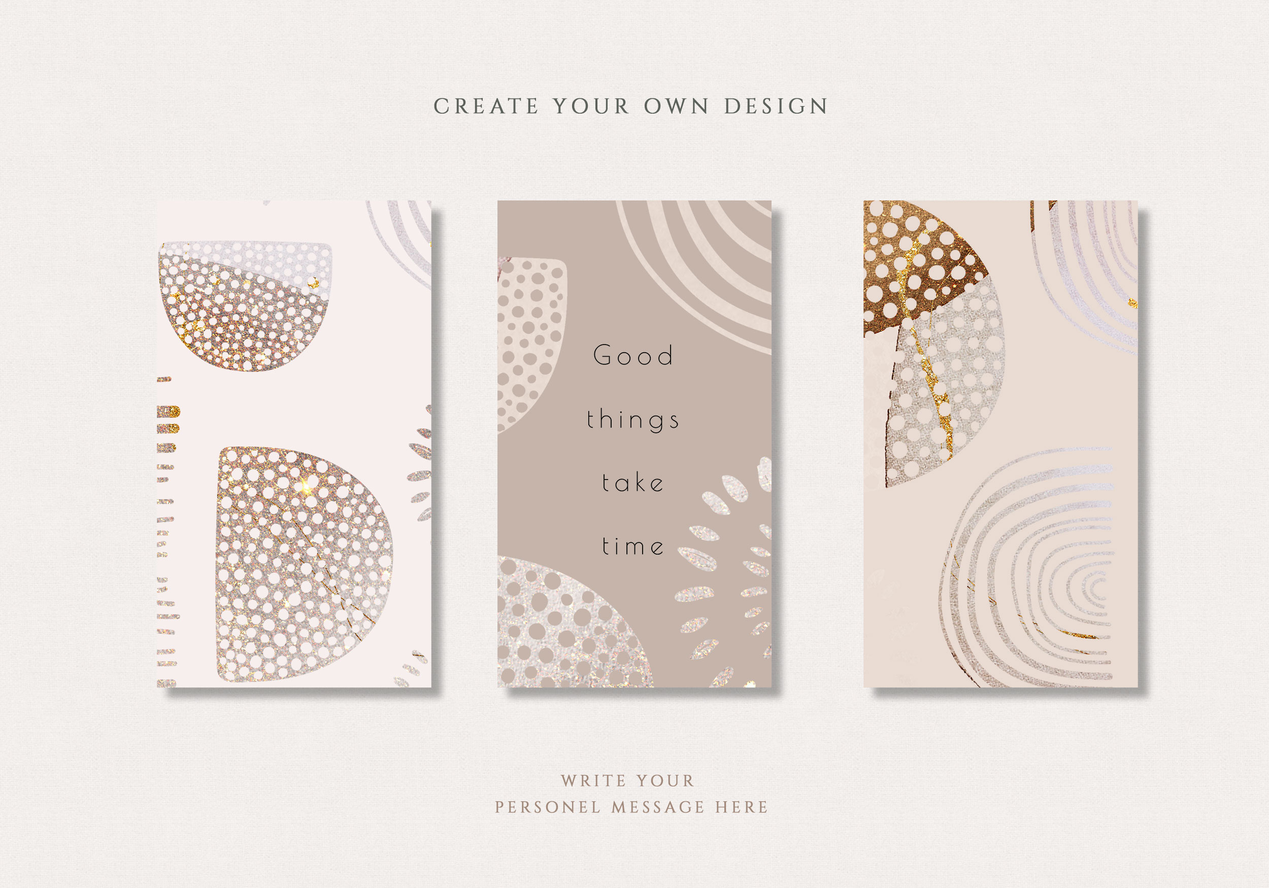 Geometric Abstract PNG Shapes