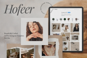 Hofeer Social Media Post Instagram