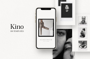 Kino - 110 Film Frames & Instant Instagram Stories