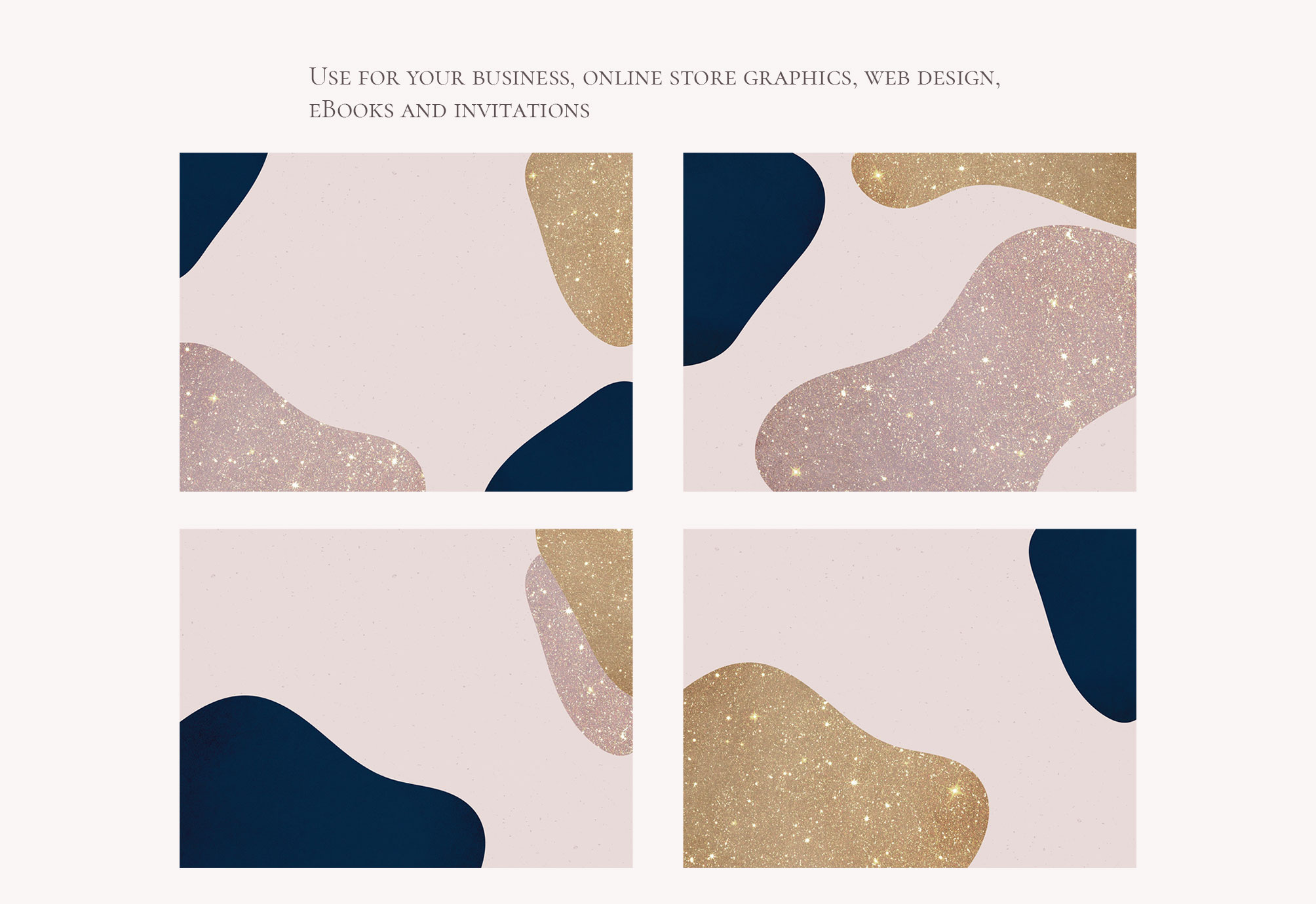 Modern Abstract Shapes Overlays