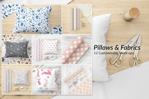 Pillows Bundle Mockups