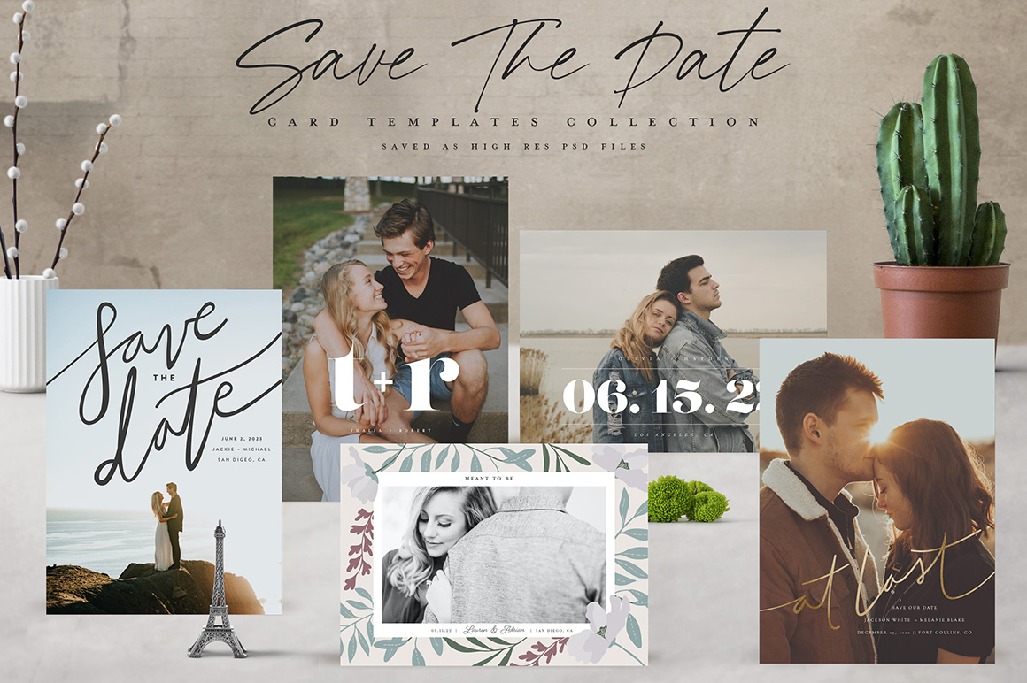 Save the Date Templates Collections