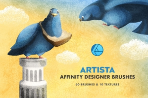 Show More Artista Affinity Designer Brushes
