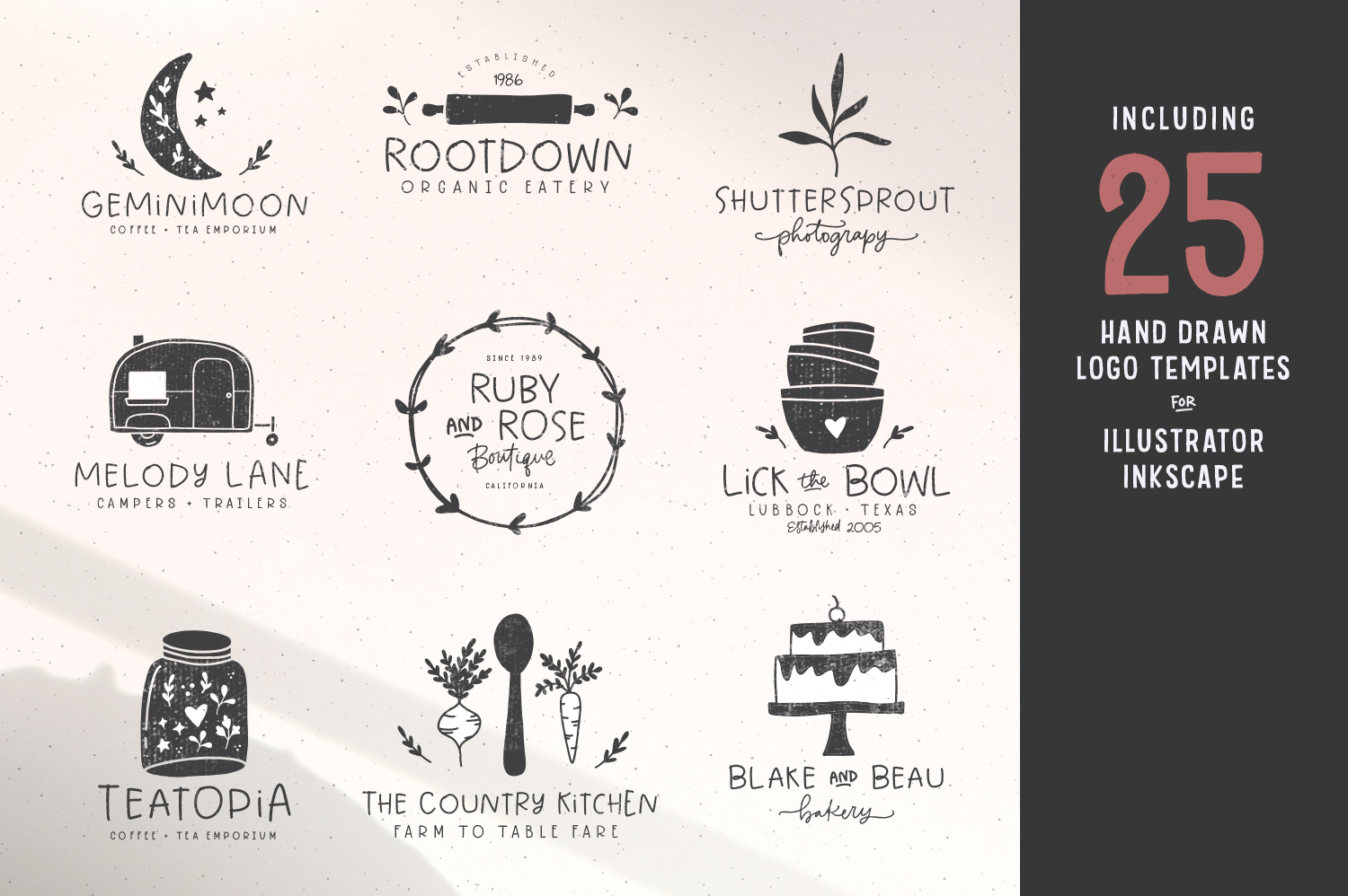 Sweetcreme Font & Logo Collection