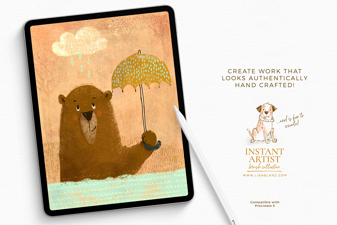 The Instant Artist Procreate Brushes and Stamps