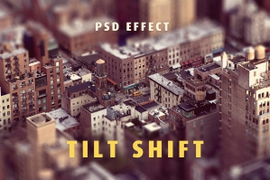 Tilt-Shift Lens Effect