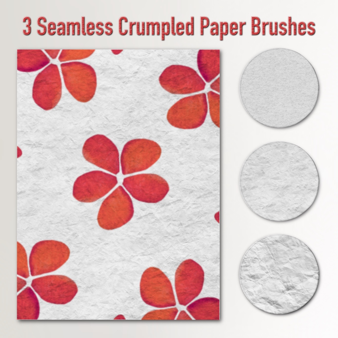 46 Seamless Paper Texture Brushes for Procreate 5