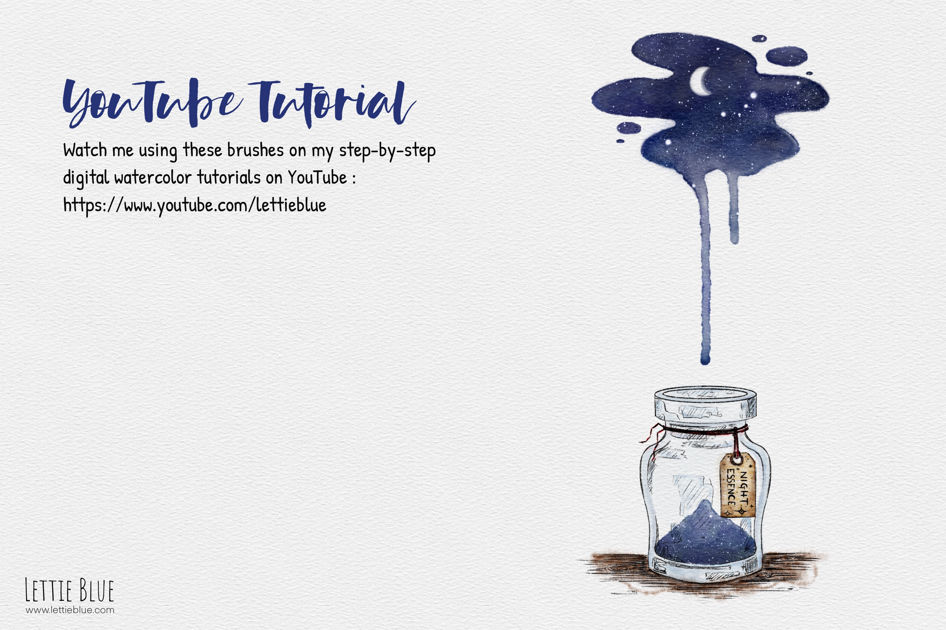 79 Realistic Watercolor Brushes for Procreate 5