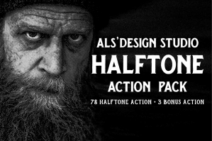 AL's Halftone Action Pack