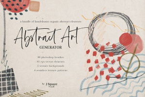 Abstract Art Generator - .PSD Brushes