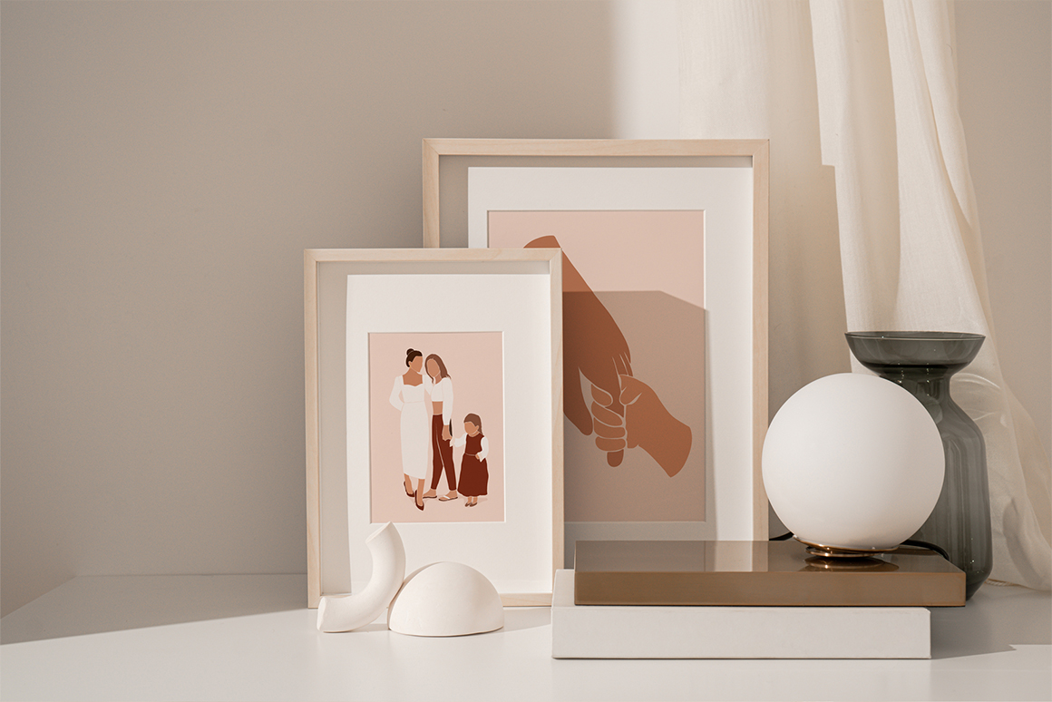 Abstract Family Collection