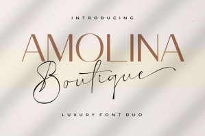 Amolina Boutique Font Duo