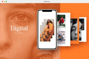 Digitalism - 20 Modern Instagram Stories Templates