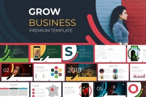 Grow Business Google Slides Template