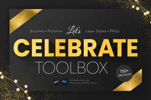 Let's Celebrate! Huge Design Toolbox