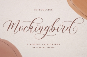 Mockingbird Modern Calligraphy