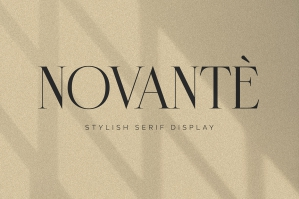 Novante Display Serif