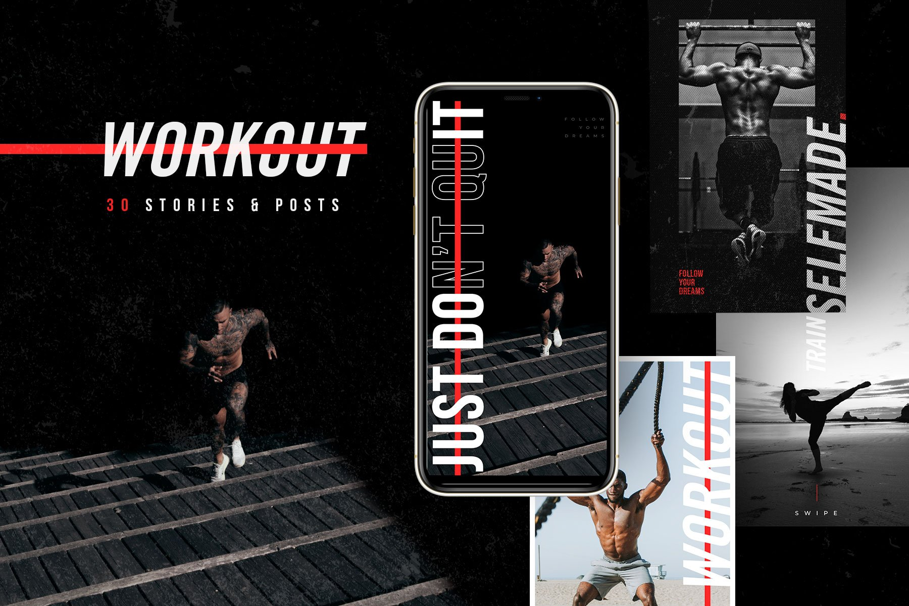 Workout - Instagram Template