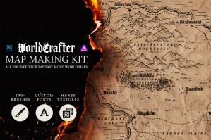 Worldcrafter Map Making Kit