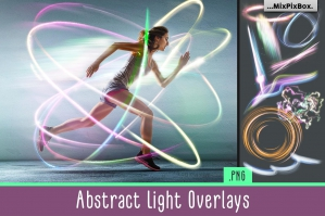 Abstract Light Overlays