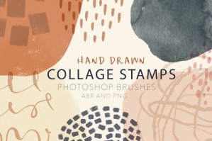 Abstract Photoshop Brush Stamps