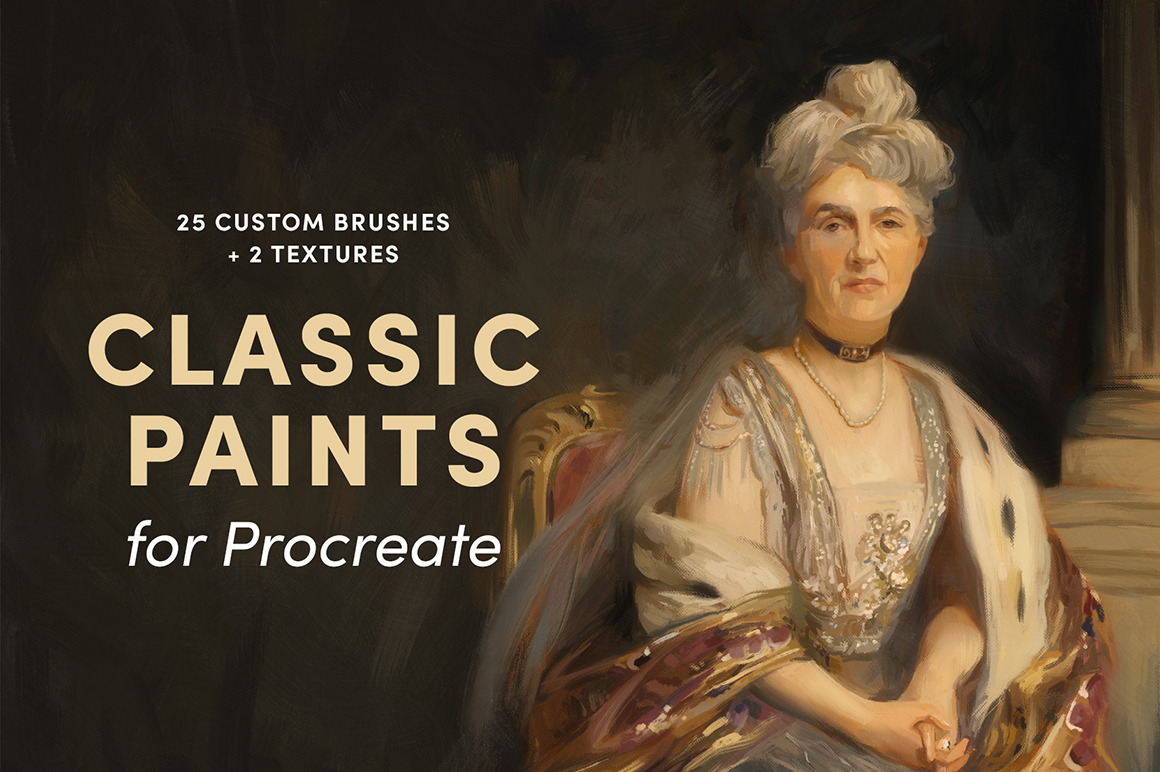 Classic Paints – Procreate Brushes