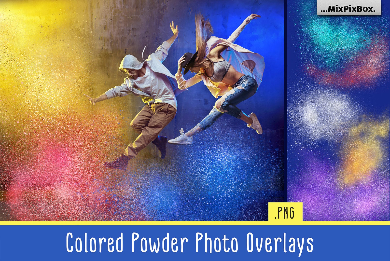 Colored Powder Overlays