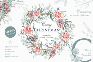 Cozy Christmas Graphic Kit