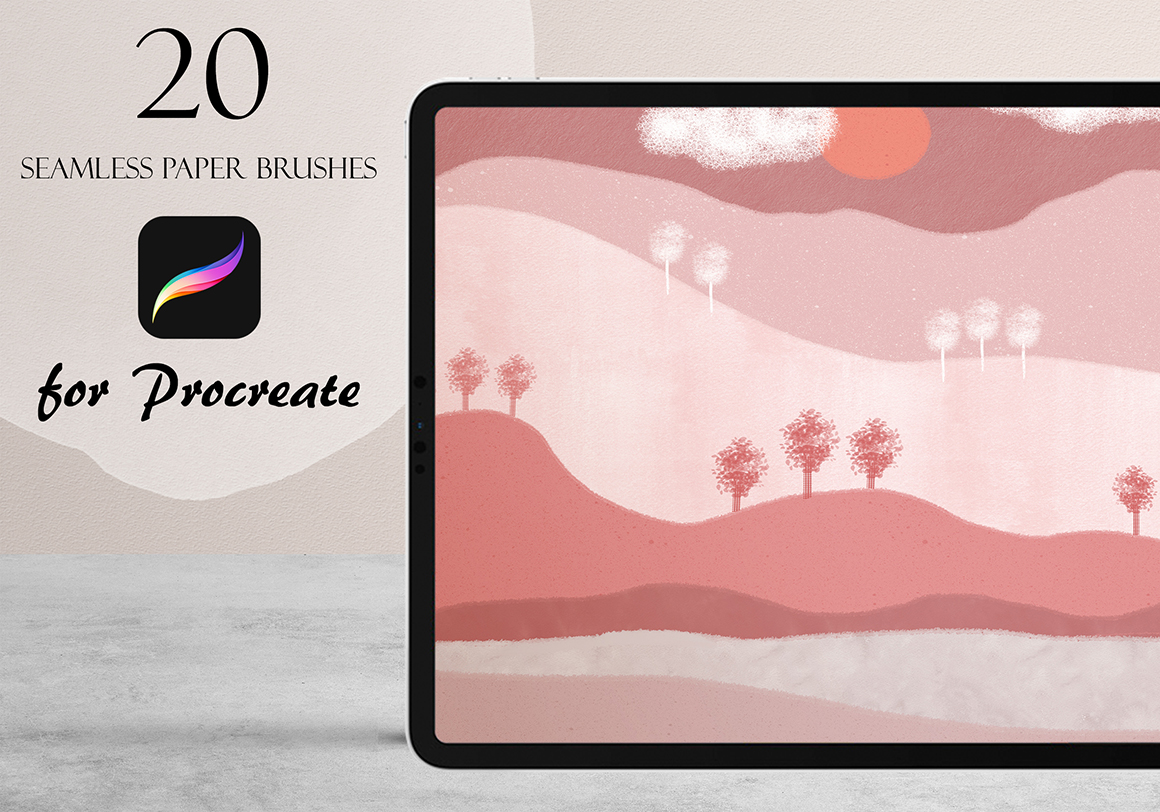 Craft Paper Brushes for Procreate