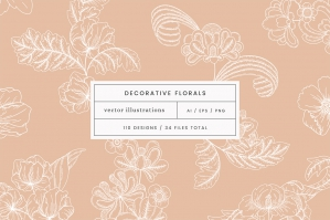 Decorative Floral Vectors