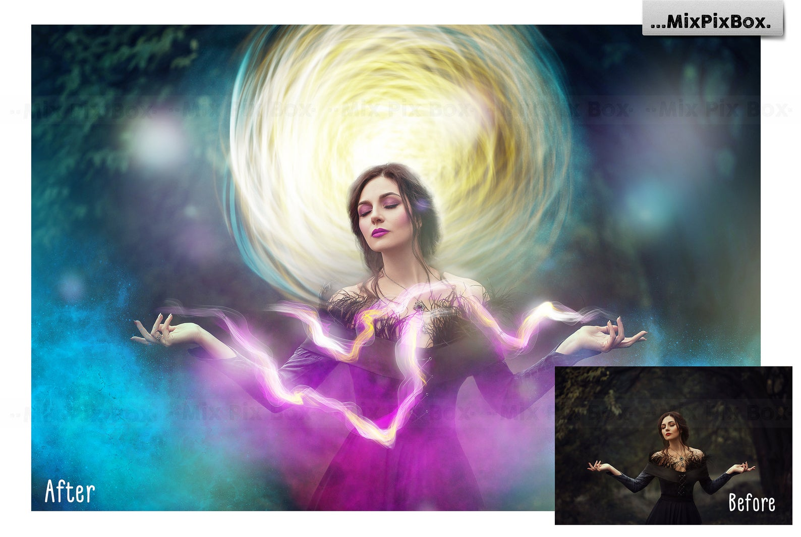 Fantasy Effects Overlays