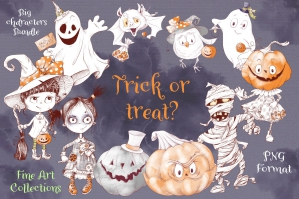 Halloween Elements - Trick or Treat?